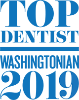 Dr. Chang is listed as a Top Dentist of 2017 by Washingtonian Magazine